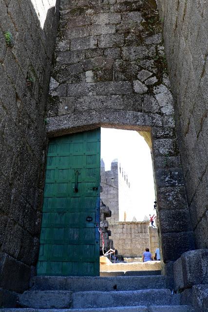 Entrance to Castle of Guimaraes