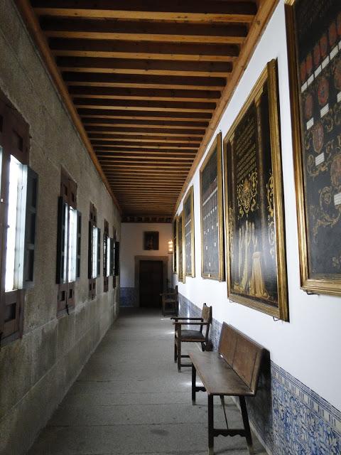 El Escorial corridor