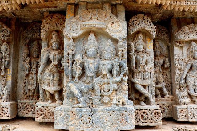 Lakshminarasimha Temple Javagal exteriors 2