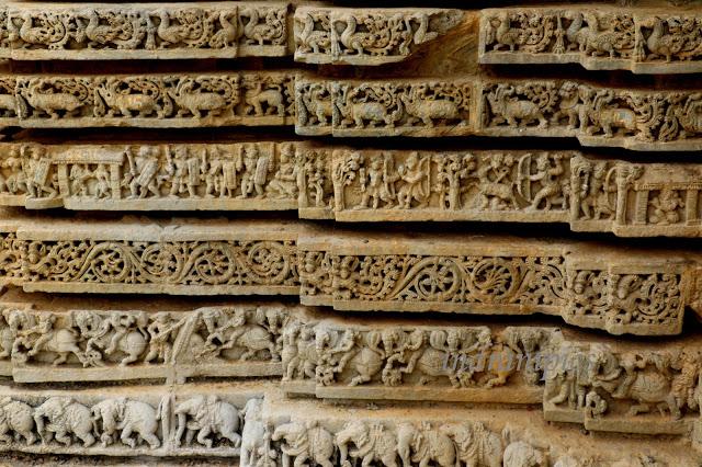Lakshminarasimha Temple Javagal wall panel