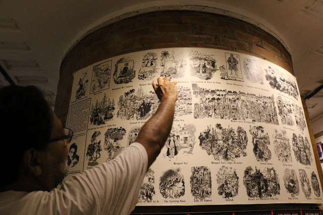 Houses of Goa Museum Mario's work