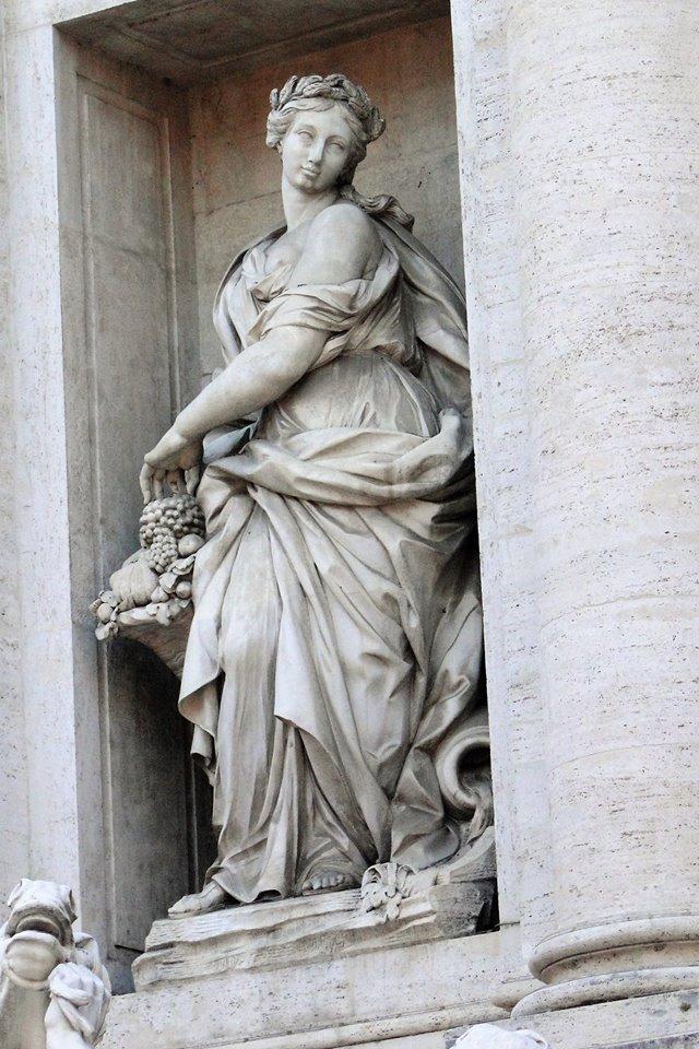 Abundance at Trevi Fountain