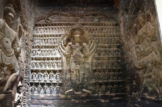 Bas relief in Prasat Kravan Siem Reap 2