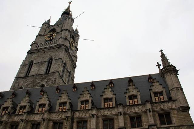 Belfry of Ghent Belgium