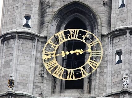 Clock on Belfry of Ghent