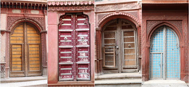 Doors of Rampuria Haveli Bikaner