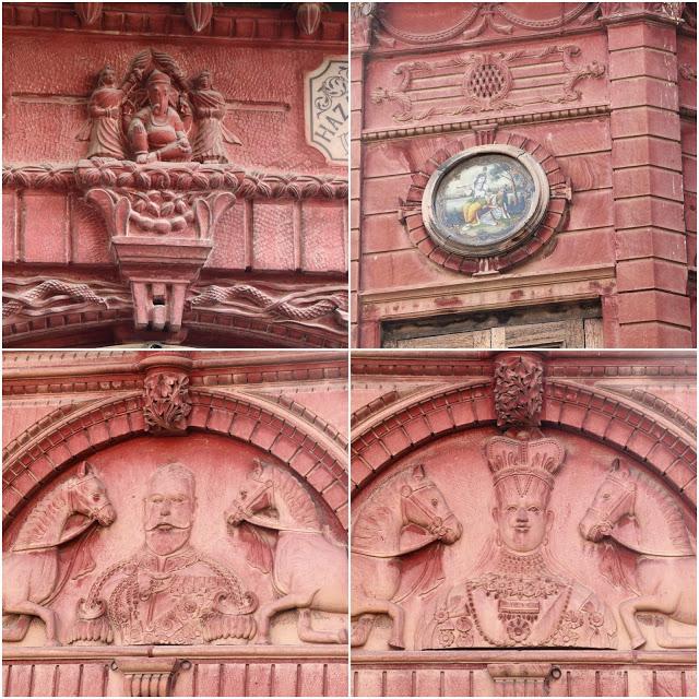 Facade Details of Rampuria Haveli
