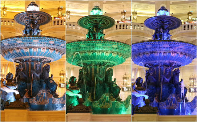 Fountain of Neptune The Parisian Macao