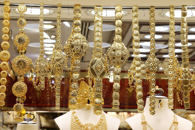 Gold Jewels Souvenirs from Sharjah