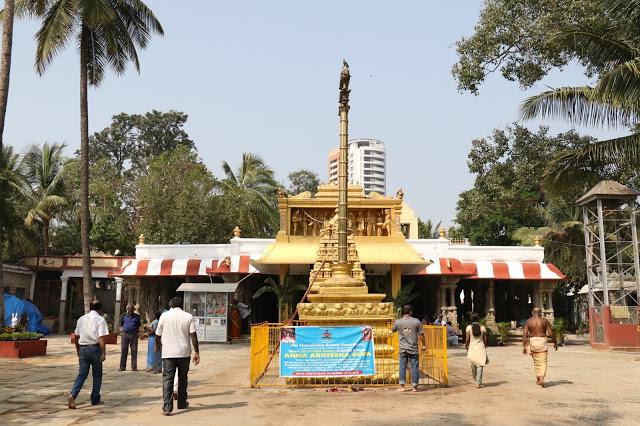 Inside Someshwara temple Complex