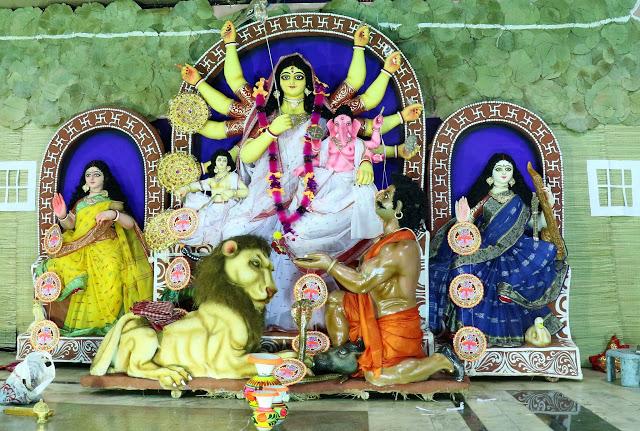 Kolaj Durga Pujo