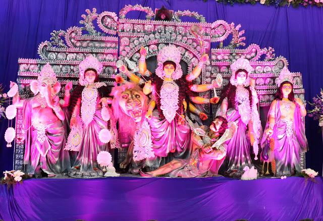 Koramangala Durga Pujo Pandal Hopping
