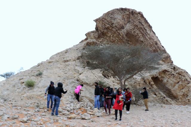 Mleiha Desert Safari with friends