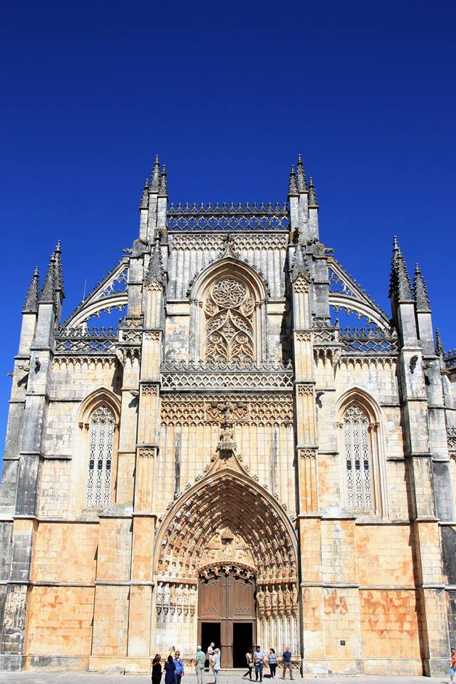 Monastery of Batalha Portugal Triangle of UNESCO World Heritage Sites in Portugal