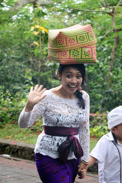 People from Bali Indonesia