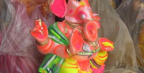 Ganesha Idols at Pottery Town Bangalore