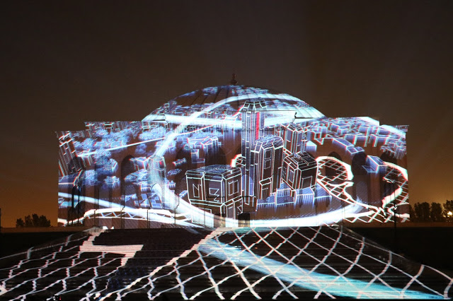 Sharjah Light Festival Locations