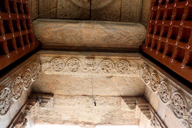 Someshwara Temple Halasuru Door frame