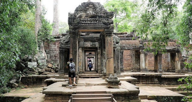 Ta Prohm Entrance