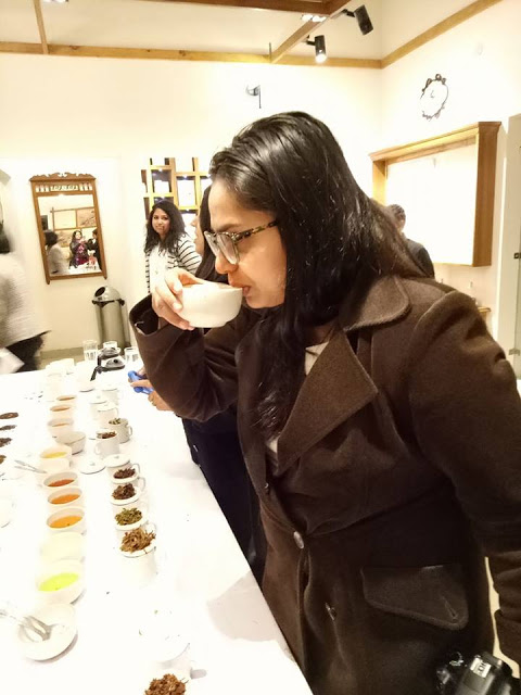 Tea Tasting in Kurseong