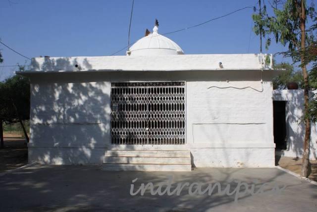Temple for martyrs at Khejarli