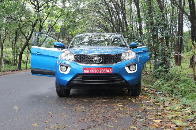 Test Drive of Tata Nexon to Idukki