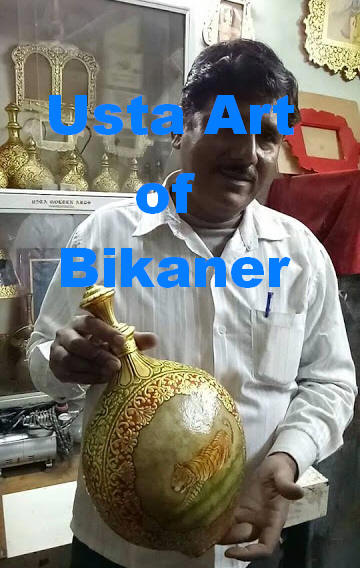 500 years old Usta Art Bikaner, Rajasthan, India