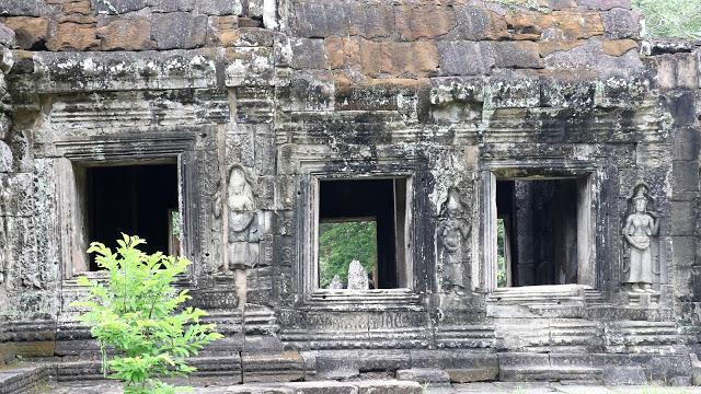 Windows of central shrine