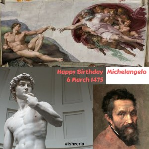 Happy Birthday Michelangelo - Isheeria