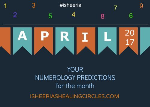 Numerology Predictions- The Month of April 2017 for You