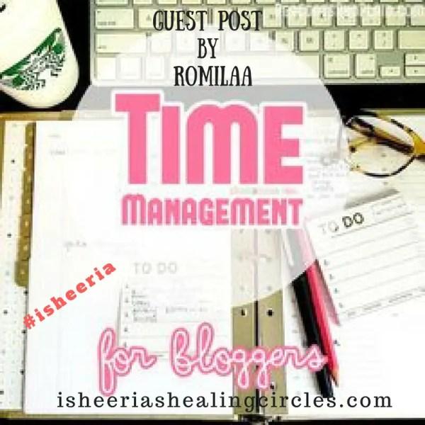 Time Management Tips for Blogging