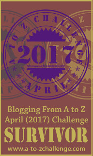 #Reflections on my first #AtoZChallenge 2017