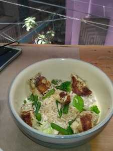 Greenr Cafe Thai Curry Rice ishieta isheeria
