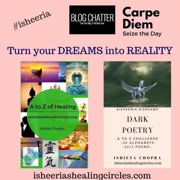 Carpe Diem #BlogchatterEbook #isheeria