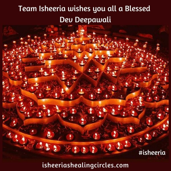 Happy Dev Deepawali from Team #isheeria
