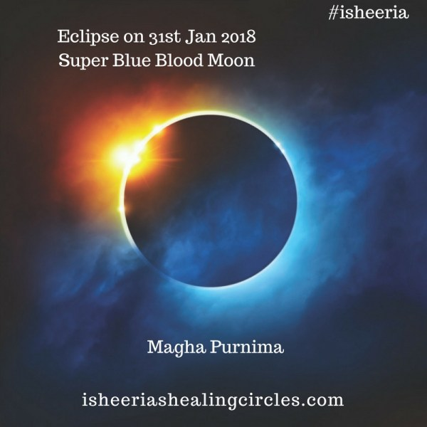 Magha Purnima – Super Blue Blood Moon – Eclipse – 31st January 2018