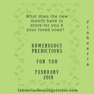 Numerology Predictions - February 2018 isheeria