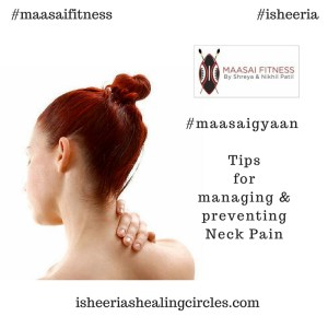 maasai isheeria neck pain tips