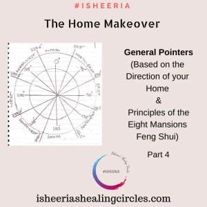 pointers feng shui home make over #isheeria