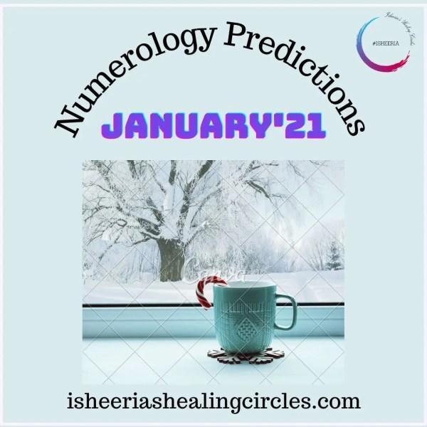 #Numerology Predictions for #January 2021 #isheeria