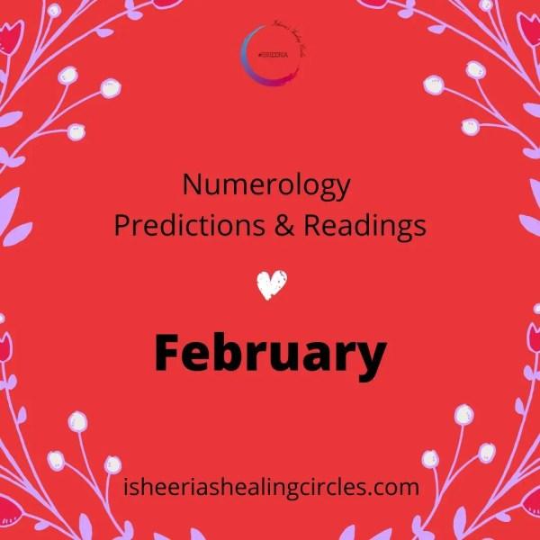 #Numerology Predictions for #February 2021 #isheeria