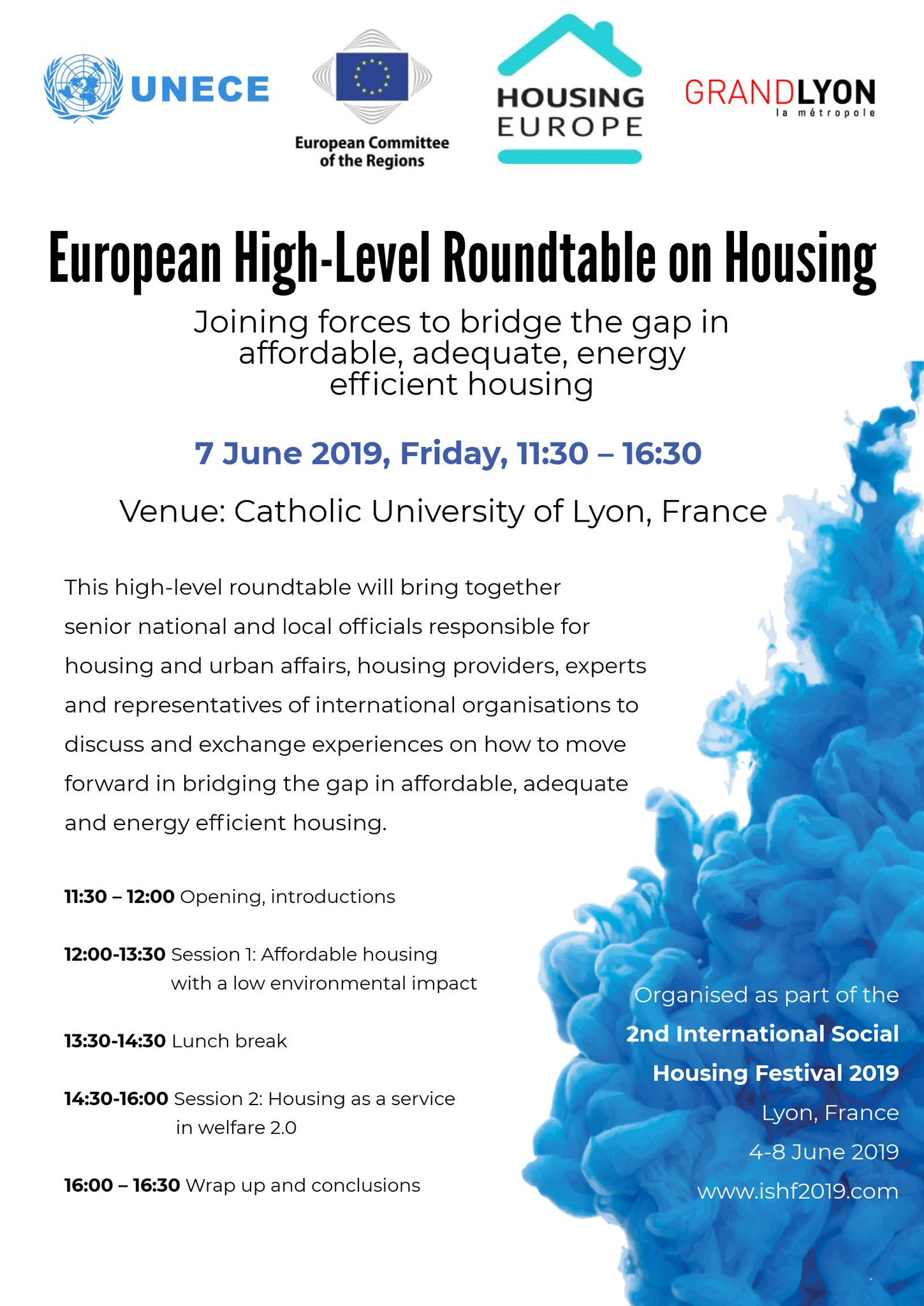 Chambre Des Metiers Gap Conference European High Level Roundtable On Housing Bridging