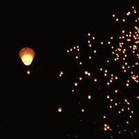 Floating Wishes at Pingxi