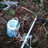 林業の意外な仕事。境界調査