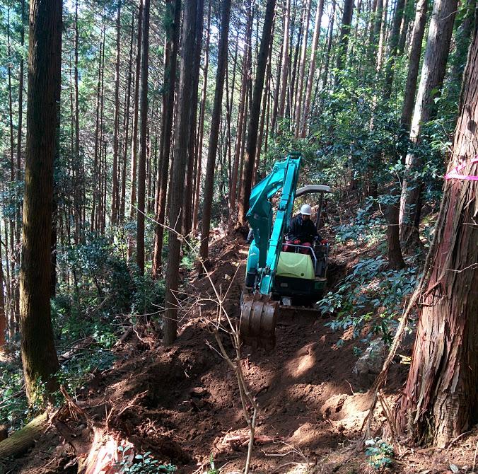 自伐型林業は作業道が全て。なぜ作業道が大切なのか?