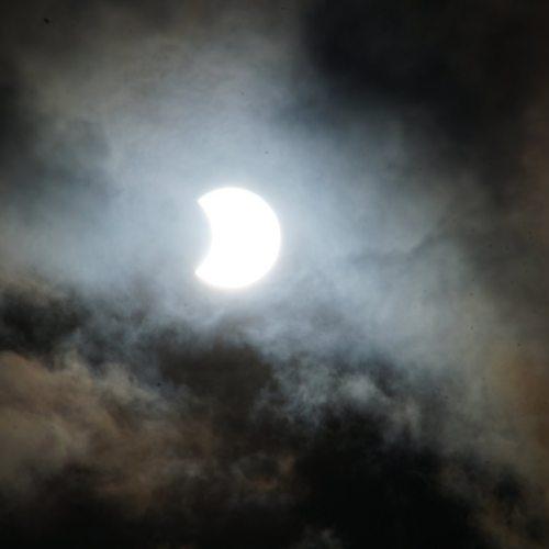 石垣島の日食