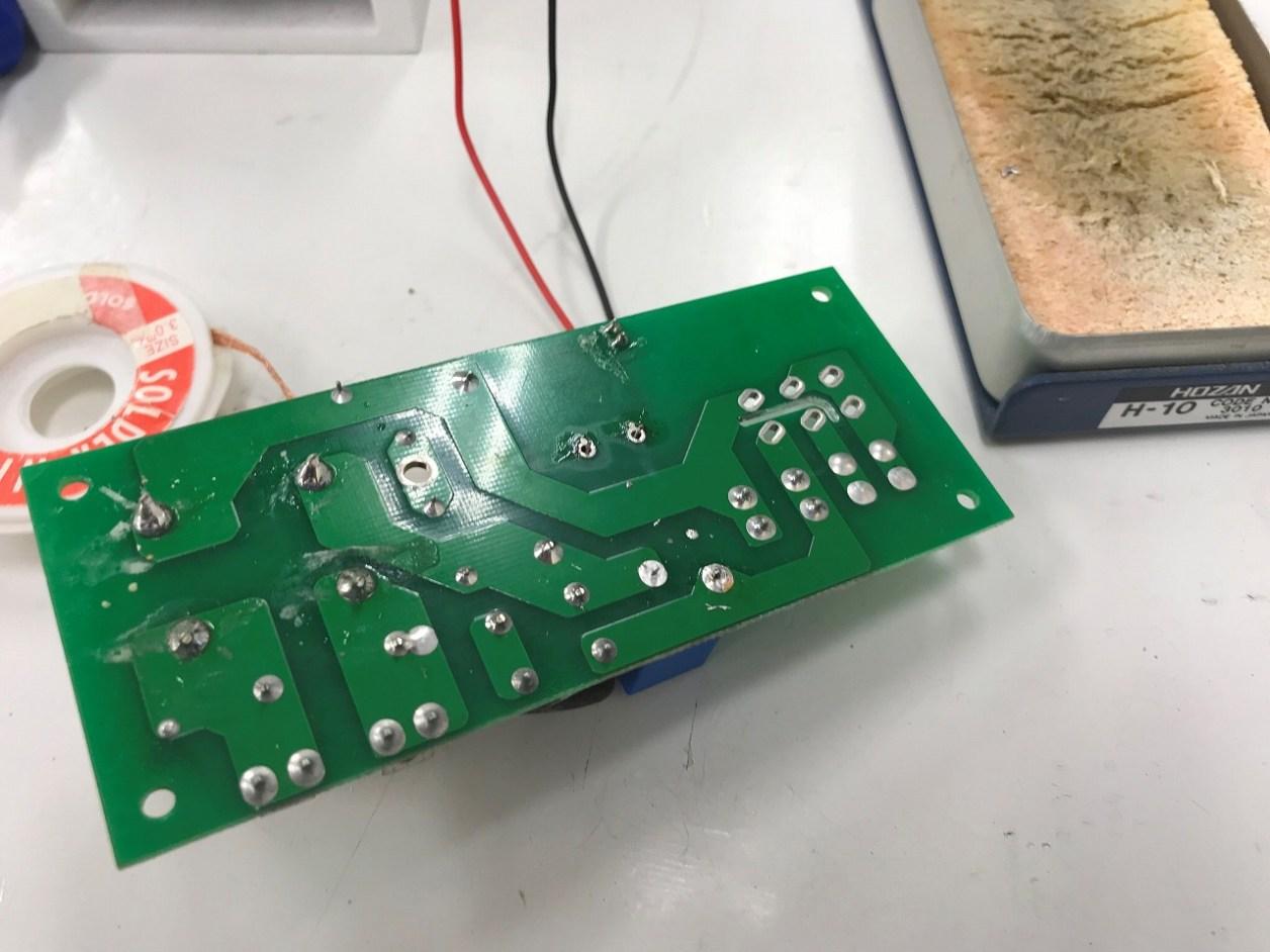 thomann節電回路基板