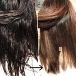 髪のクセを柔らかく伸ばす、カラーも綺麗に染まる。奇跡の縮毛矯正剤ネオリシオ