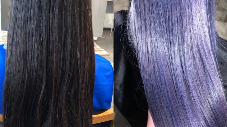 長い髪を明るく染めるときは色ムラに注意、ロングヘアを綺麗に染めるブリーチカラー テクニック