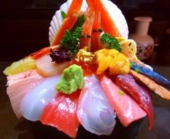 山さん寿司 :海鮮丼 2700円